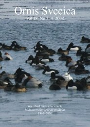 Changes in numbers and distribution of wintering ... - Lunds universitet