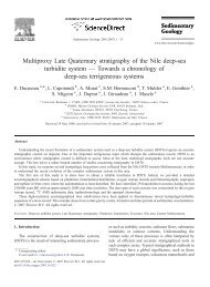 Multiproxy Late Quaternary stratigraphy of the ... - Climate Geology