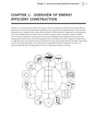 chapter 1: overview of energy efficient construction - BAE Home