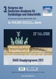 DAGG Programm als Download (PDF) - Arbeitsgemeinschaft ...