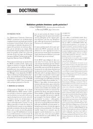Mutilations génitales féminines : Quelle protection? - Medimmigrant