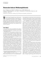 Benzocaine-Induced Methemoglobinemia - RT Journal On-Line