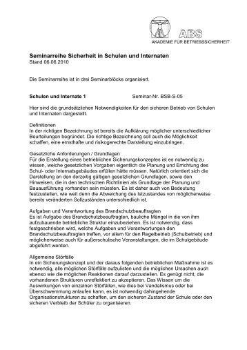 Detaillierte Beschreibung der Seminarreihe (pdf) - Auctor