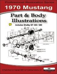 DEMO - 1970 Mustang Part & Body Illustrations - ForelPublishing.com