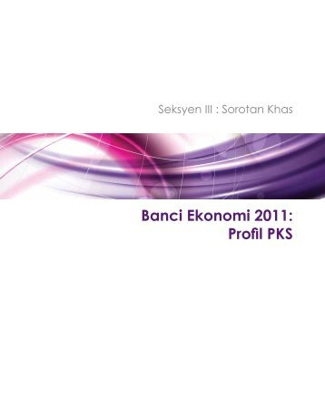 Banci Ekonomi 2011: Profil PKS - SME Corporation Malaysia