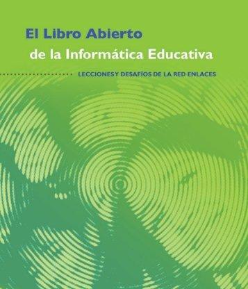 El libro abierto de la Informática Educativa - portada intranet - Red ...