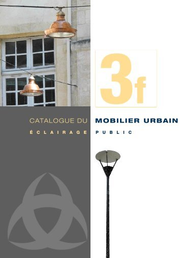 Catalogue : Eclairage public - Bordeaux