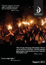 Rapport 2012 - KulturNatten Uppsala
