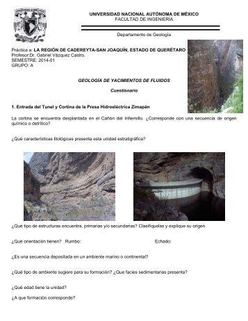 Cuestionario - UNAM