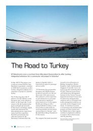 Electronics Review Vol20 No.2 - The Road to Turkey - ST Electronics
