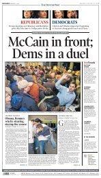REPUBLICANS DEMOCRATS - The Denver Post