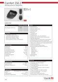 Technische Daten Comfort 220/250/252 (pdf) - DZ Schliesstechnik ... - Page 2