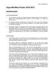 Bedingungen AT0000A0J6X4.docx - Hypo Landesbank Vorarlberg
