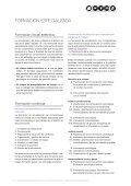 La formación especializada de los psicólogos en el - Generalitat de ... - Page 7