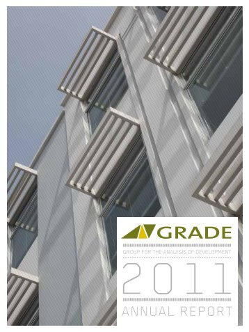 Annual report 2011 (30 years) - Grade