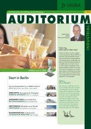 auditorium - DEKRA Certification