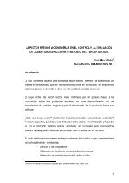ASPECTOS PREVIOS A CONSIDERAR EN EL CONTROL Y LA EVALUACIÓN DE LAS ...
