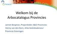Presentatie workshop 3.1 - Landelijk Arbo Congres