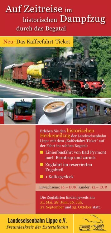 Kaffeefahrt-Ticket - Wesio