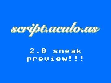 script.aculo.us 2.0 sneak preview - Thomas Fuchs