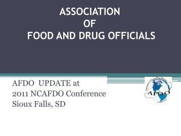 Directory of State & Local Officials (DSLO) - NCAFDO