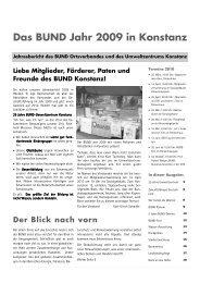 Jahresbericht 2009.pub - BUND Konstanz