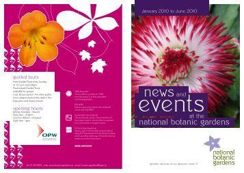 Events - National Botanic Gardens