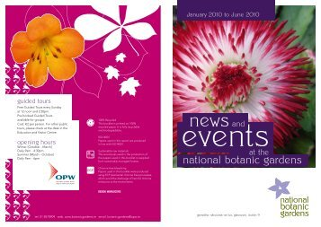 Events - National Botanic Gardens