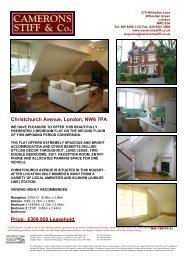 Christchurch Avenue, London, NW6 7PA Price: £309,950 ... - Vebra