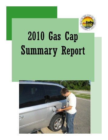 2010 Gas Cap - Toledo Metropolitan Area Council of Governments
