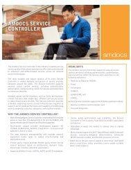 AMDOCS SERVICE CONTROLLER
