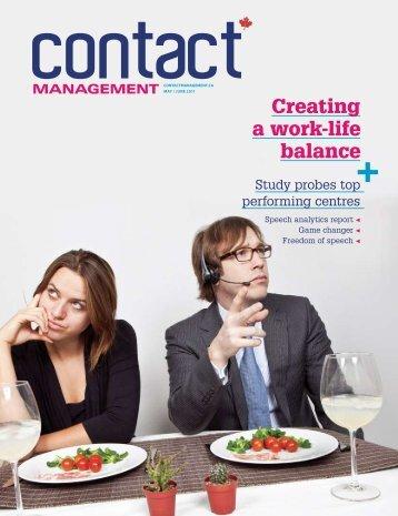 work life balance managment