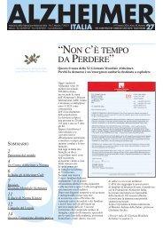 Notiziario 27 - Alzheimer Italia