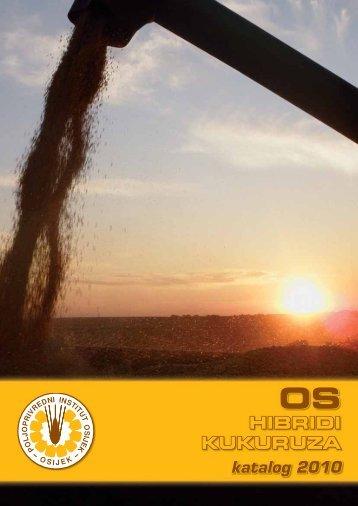 os hibrida kukuruza 2010 - Poljoprivredni institut Osijek