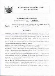 Conferimento incarico di Esperto del Sindaco alla Dr.ssa Milioto ...
