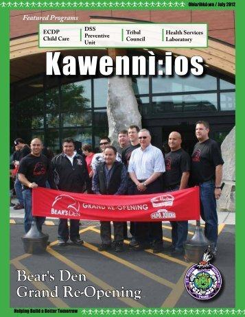 Kawennì:ios Newsletter - Ohiarihkó:wa / July 2012 - Saint Regis ...