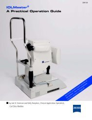 IOLMaster - A Practical Operation Guide - Carl Zeiss
