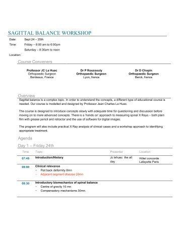 0 sagittal balance agenda - copie