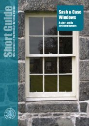 Sash and Case Windows - A short guide for ... - Historic Scotland