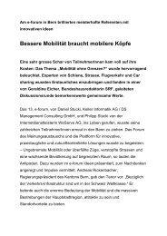 Text: Dr. Hans Balmer - E-Forum