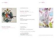 Infos zur Ausstellung - Galerie Besch