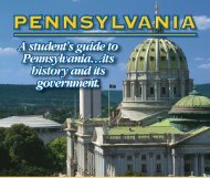 A Student's Guide to Pennsylvania