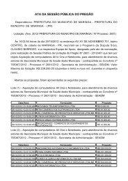 Ata da Reunião - PE 401/2012 - Maringá