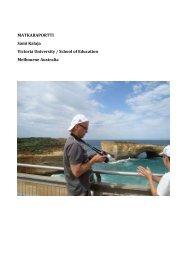 Sami Kalaja, Melbourne, Australia (2009) pdf