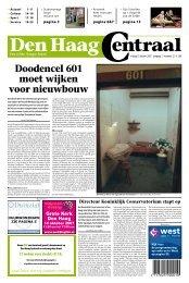 Doodencel 601 moet wijken voor nieuwbouw - Den Haag Centraal
