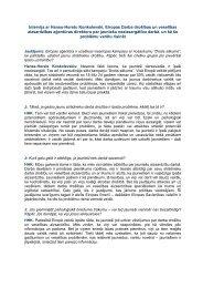 Intervija ar Hansu-Horstu Konkolevski, Eiropas Darba drošības un ...