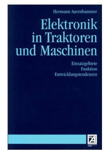 Elektronik in Traktoren und Maschinen - mediaTUM