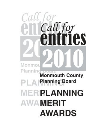 call for entries cover 2009.qxp - Monmouth County