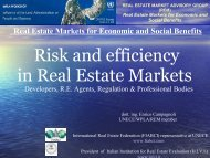 Property rights and Private sector - IsIVI