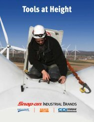 New Catalog - Tools At Height - Snap-On Industrial Brands